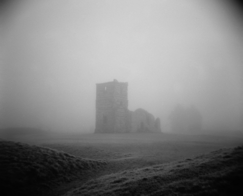 Knowlton in the Fog.